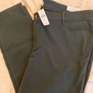 LOFT Plus Khaki Leggings